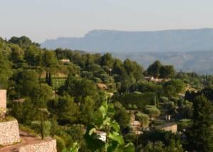 view of domaine de la font des pères winery and vineyards