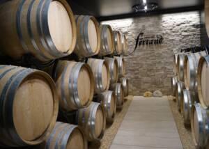 Cellars of Domaine Nadine Ferrand