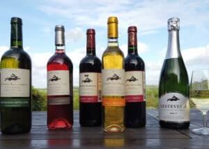 Château Les Valentines Wine Bottles