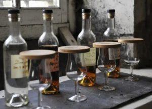 Cognac tastings at Vallein Tercinier in South West of France