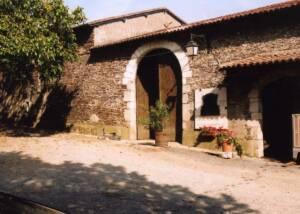 Building of Chateau De La Janniere