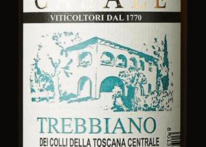 Wine Label of Azienda Agricola Casale Wine Bottle