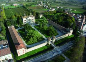Aerial View of Castello di Roncade
