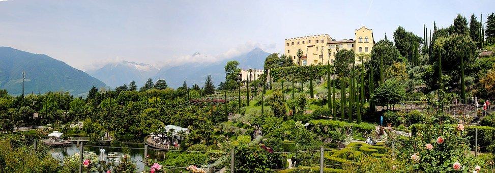 Landschaft, Italien, Südtirol, Meran