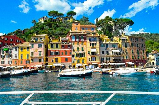 Portofino, Ligurien, Yatch