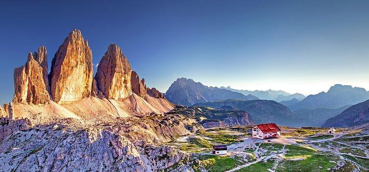 Südtirol, Drei Zinnen, Dolomiten