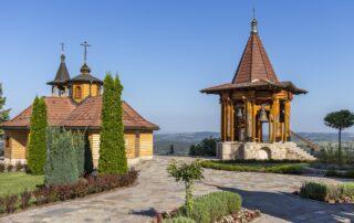 A monastery in Lešje in the Šumadija region