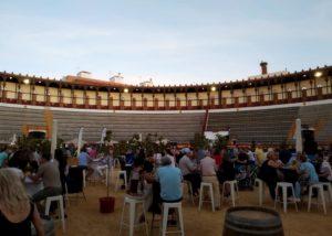 Wine tasting event at Bodegas Marcelino Diaz winery
