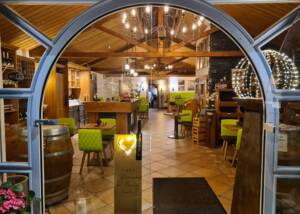 Wine Tasting Area of Weingut P. Stettler