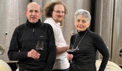 Vins Schoenheitz - owners during a wine tasting