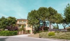 entrance into the Tenuta Cocci Grifoni winery in Italy