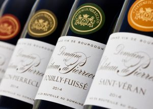 Château de Pierreclos - range of wines awarded