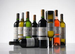 Château Bouscaut - range of different wines