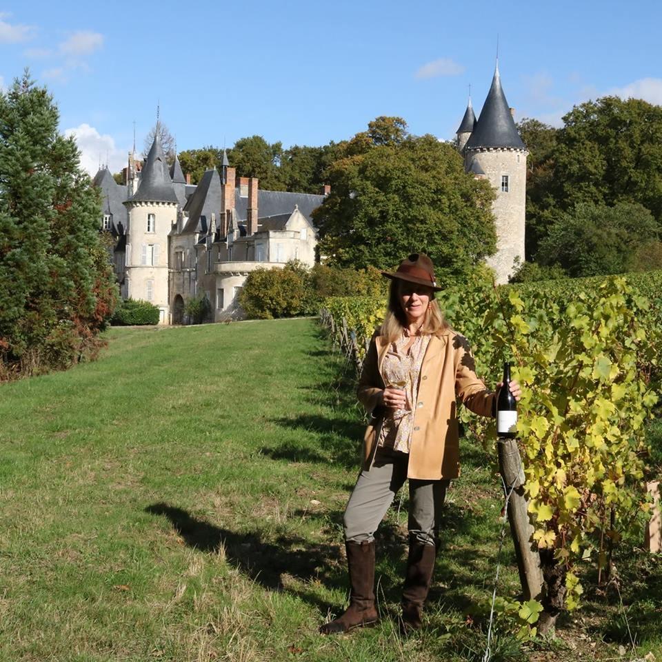 Château de Tracy - vines