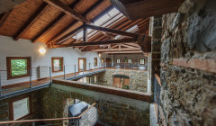 panorama view inside Tenuta Villanova winery located in Italy