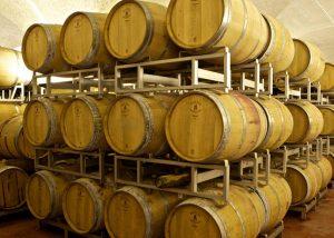 brigaldara beautiful modern wine cellar with wooden barrels for wine aging
