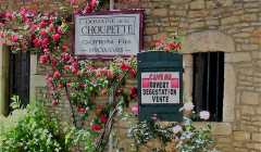 Domaine de la Choupette Gutrin Fils - entrance