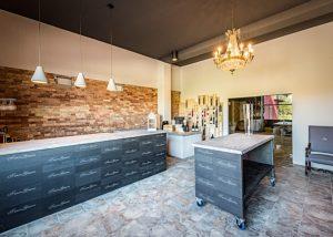 Tenuta Garetto kitchen where you can taste italian wines