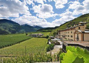 casa vinicola triacca picturesque landscapes around beautiful mansion