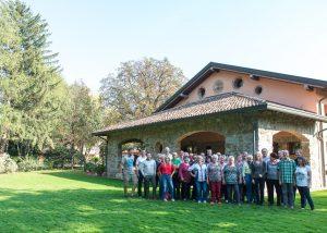 wine-making process inside Tenuta Villanova winery located in Italy