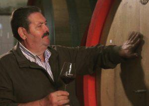 Sorrentino Vesuvio wine tasting session from barrels in cellar
