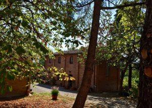 san gregorio amazing yard and beige estate in autumn