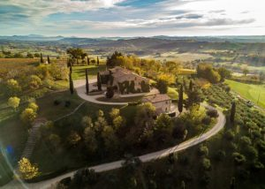 Tenuta di Tavignano estate overview which is located in Italy