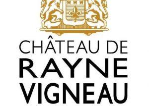 The logo at Château de Rayne Vigneau