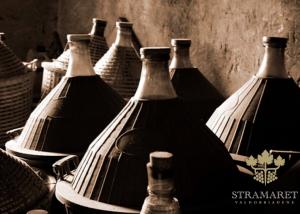 old tanks for wine fermentation used in Stramaret back in a days