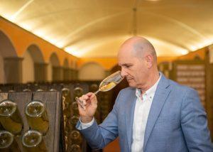 wine tasting at Tallarini winery located in Italy