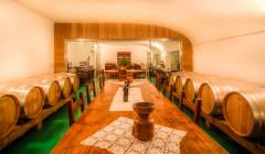 Villa Cilnia winery cellar where you can taste wines
