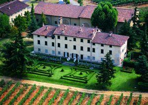 the estate of Tenuta La Marchesa with green garden and building in Italy