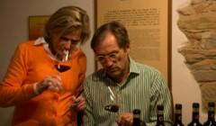 Savignola winery wine tasting process  in Chianti, Tuscany, Italy