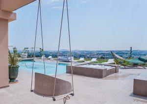 Tenuta Biodinamica Mara pool zone where you can enjoy wines