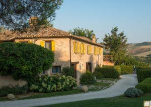 Winery building of Tenuta Santi Giacomo e Filippo winery located in Italy