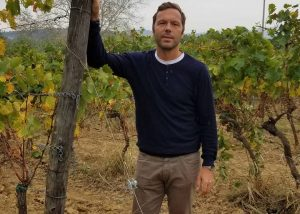 Tenuta San Vito winemaker at vineyard in Italy