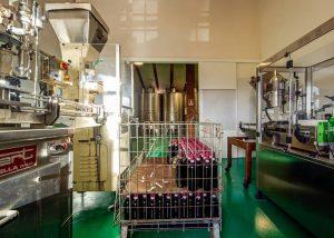 Villa Cilnia equipment loocated inside winery in Italy