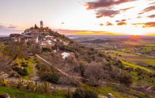 The village of Monsaraz in the Alentejo region