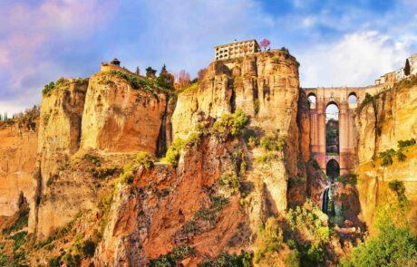 Andalusia wine region