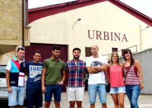 Bodegas Urbina_estate and people