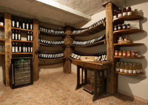 stekar wines many bottles of great wines on wooden shelves