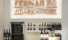 Fernão Pó Winery_wall logo and wines