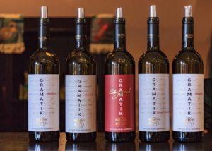 Rupel Winery - range of wines