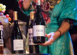 Wine bottles from the Koroniotis Winery