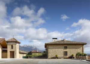Ostatu - in front of winery