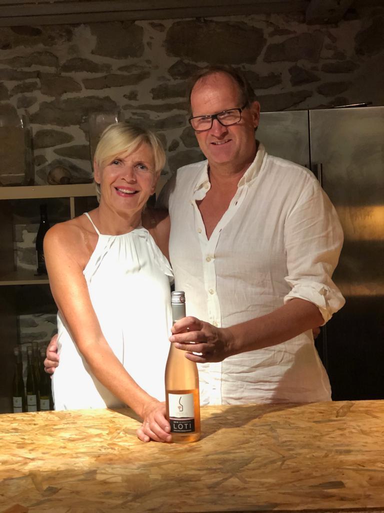 Domaine de la Senche - owners and wine