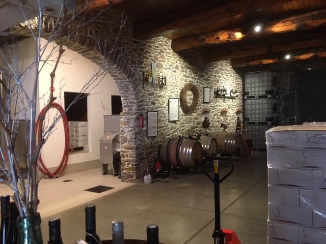 Domaine de la Senche - wine cellar
