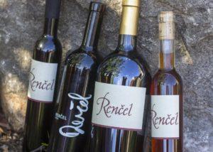 Rencel boutique wines - range of wine
