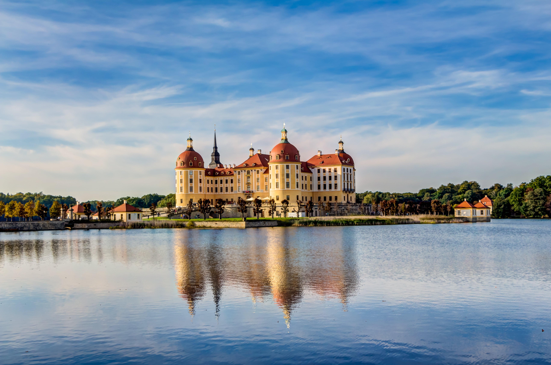 Moritzburg Castle near Dresden in the Sachsen region