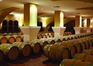 Triantafyllopoulos Winery_barrel room_2